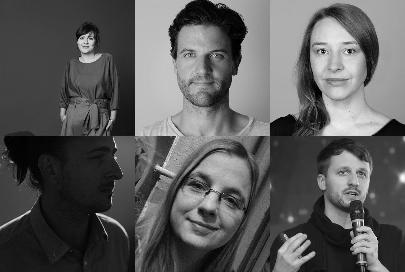 Stefanie Hanssen, Stefan Nolte, Lea Strunk, Robin Schellenberg, Iris Praefke, Lutz Leichsenring